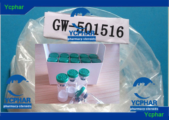 China GW-501516 Cardarine Fat Loss SARMs Bodybuilding Prohormones 317318-70-0 supplier