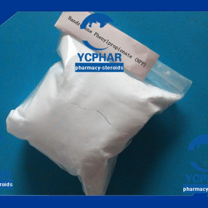NPP 200 Injectable Anabolic Steroids Products / Growth Hormone Injection CAS 62-90-8